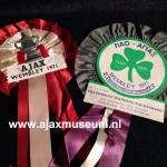 Wembley Panathinaikos - Ajax 1971. Ajax wint de Europa Cup 1 in het Wembley Stadion met  2 - 0 van Panathinaikos.