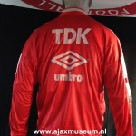 Trainingspak Ajax Umbro seizoen 1990, TDK