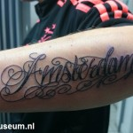 Tattoo van Melissa uit Amsterdam