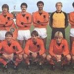 Teamfoto Nederlands Elftal 1982 foto AD.nl