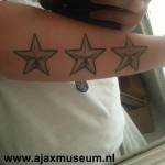 Tattoo van Melissa uit Velsen-Noord