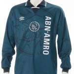Wedstrijdshirt Nordin Wooter nr 18, seizoen 1995 – 1996