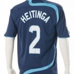 Wedstrijdshirt John Heitinga. Gedragen seizoen: 2007- 2008 uit