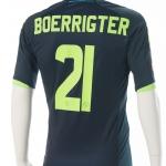 Wedstrijdshirt Derk Boerrigter.Gedragen tijdens de wedstrijd uitVitesse – Ajax 3-2. seizoen 2012 – 2013