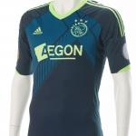 Wedstrijdshirt Derk Boerrigter.Gedragen tijdens de wedstrijd Vitesse – Ajax 3-2. seizoen 2012 – 2013 uit