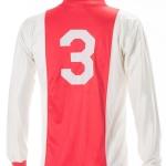 Wedstrijdshirt Ronald Spelbos. Nummer 3, seizoen 1986 – 1987
