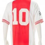 Wedstrijdshirt Jari Litmanen nr 10, Champions League 1995 – 1996