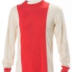 Wedstrijdshirt Tscheu la Ling. 70 jaren Nummer 14 Kampioenswedstrijd Niet gewassen.  Zweetgeur zit er nog in.  Code in het shirt Excelsior sport 7