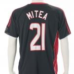 Seizoen: 2006 – 2007 Wedstrijdshirt van Mitea tijdens Dennis Bergkamp Testimonial (match 23-07-2006)