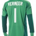 Wedstrijdshirt Kenneth Vermeer seizoen 2012 / 2013 met handtekening