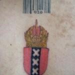 Tattoo van Adriaan 2