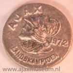 Ajax landskampioen 1972