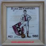 Ajax tegeltje 1960