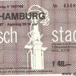 Wedstrijd: Ajax - HSV Hamburg Datum: 4 november 1987 uitslag 2-0