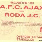 Wedstrijd: Ajax – Roda JC Datum: 29 - 4 - 1990 uitslag 2-2
