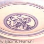 Delfs blauwe Ajax asbak