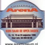 Bierviltje opening Arena