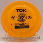 Frisbee Ajax, oude logo, TDK