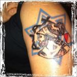 Tattoo van Danny uit Amsterdam