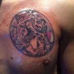 Tattoo van Danny uit Hillegom
