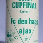 Dutch Cupfinal Bier dichtbij