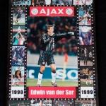 Collage Edwin van der Sar.