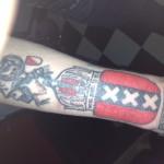 Tattoo van Edwin uit Amsterdam