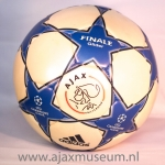 Wedstrijd bal Ajax Final Glider Champions League