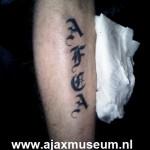 Tattoo van Glenn uit Amersfoort