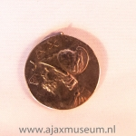 Gouden Ajax munt. Oude logo.