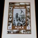 Collage Gouden Jaren Johan Cruijff. Uit tegen GVAV scoorde hij 1 keer (3-1). Johan was toen 17 jaar.