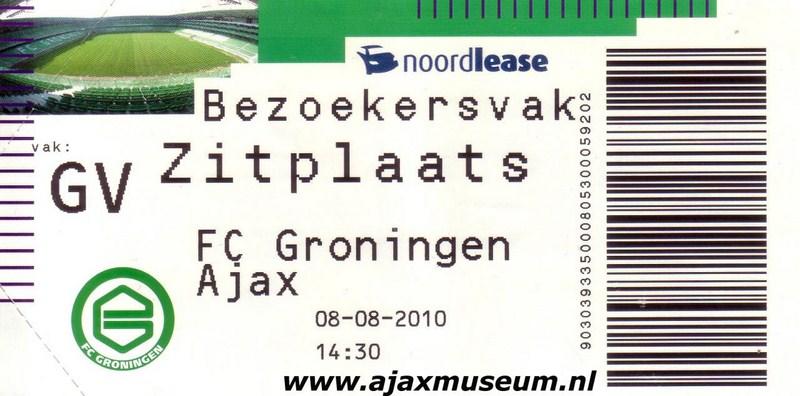 Groningen - Ajax 2010