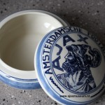 Bonbon schaal Ajax, Delfts blauw
