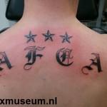 Tattoo van Jeffrey uit Breskens