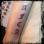 Tattoo van Jeroen uit Purmerend