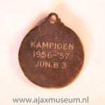 Kampioen 1956-1957 jun B3