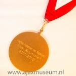 Kampioenmedaille A jeugd Algeheel Kampioen van Nederland, AJAX A1 seizoen 2011 – 2012