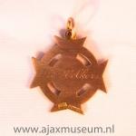Gouden Kampioensmedaile 1933 – 1934. Wim Volkers