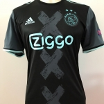 Gedragen door: Kasper Dolberg in de UEFA Europa League wedstrijd Celta de Vigo - Ajax: 2 - 2 (20 oktober 2016).