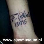 Tattoo van Nick uit Zwijndrecht