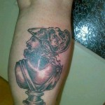 Tattoo van Nourdin