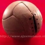 Oude wedstrijdbal