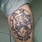 Tattoo van Peter 2