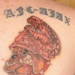 Tattoo van Stafford