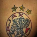 Tattoo van Justus uit Den Burg ( Texel)