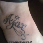 Tattoo van Angelique