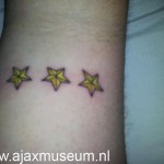 Tattoo van Arjan