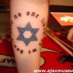 Tattoo van Bas