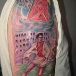Tattoo van Bert