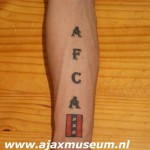 Tattoo van Leroy